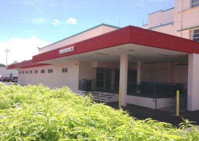 Wahiawa General Hospital Emergency Room Renovations