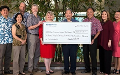 SSFM's funds University of Hawaii scholarships and fellowships.