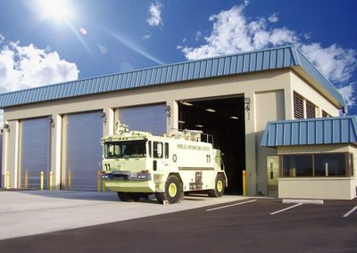 Aircraft Rescue and Fire Fighter Facility Improvements, Phase 2