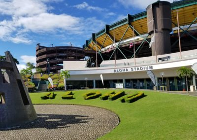 Aloha Stadium Replace Metal Roof Deck and Transformers