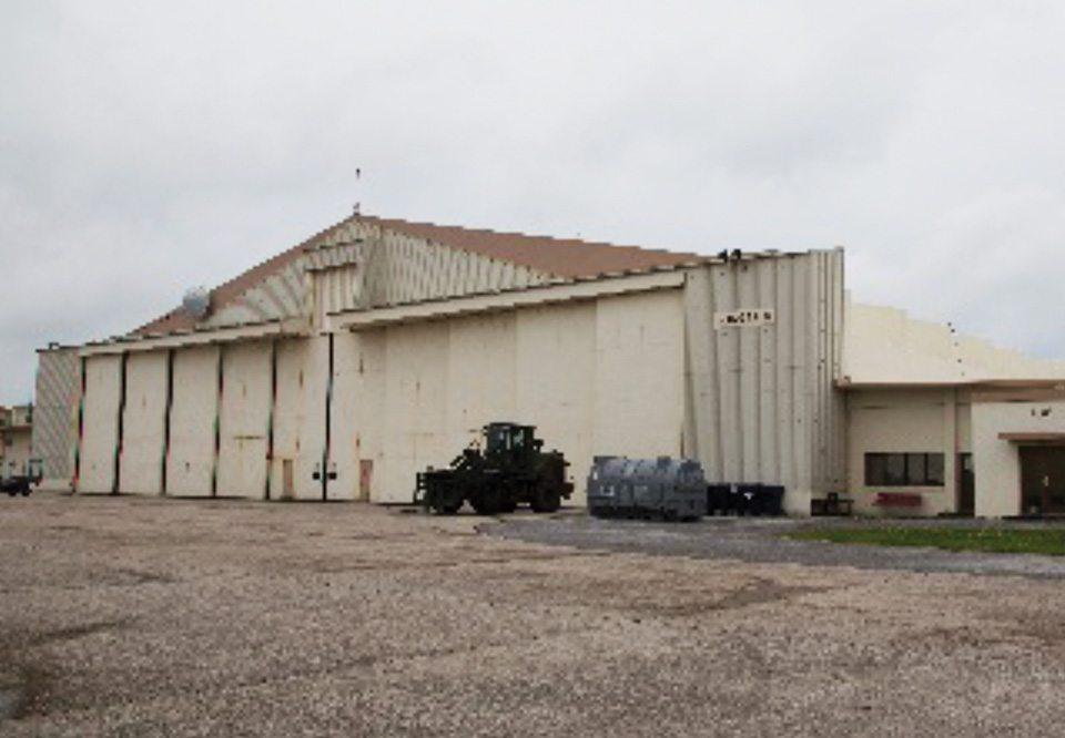 Kadena Aircraft  Maintenance Hangar