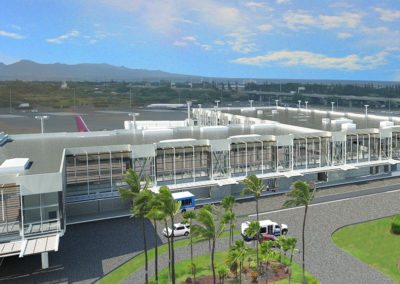 Honolulu International Airport Concourse Extension at Inter-Island Terminal