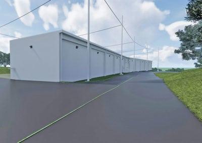 Patriot Missile Storage Facility