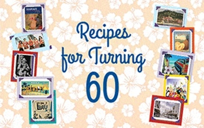 Our60th anniversary cookbookwith dishes from the era of our founding.