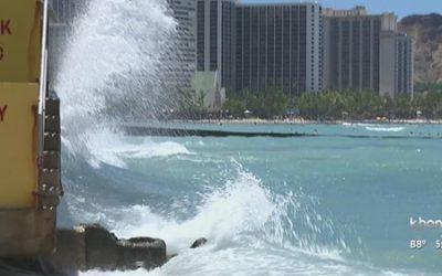 Waikiki beaches get money to address erosion and damaged seawalls.