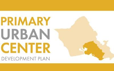Primary Urban Center Development Plan Update: Sea Level Rise Pop-Ups