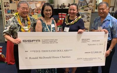 SSFM supports Ronald McDonald House.