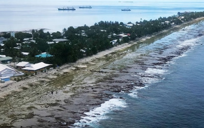 Pacific Islands Seek Help and Unity in their Fight against Climate Change